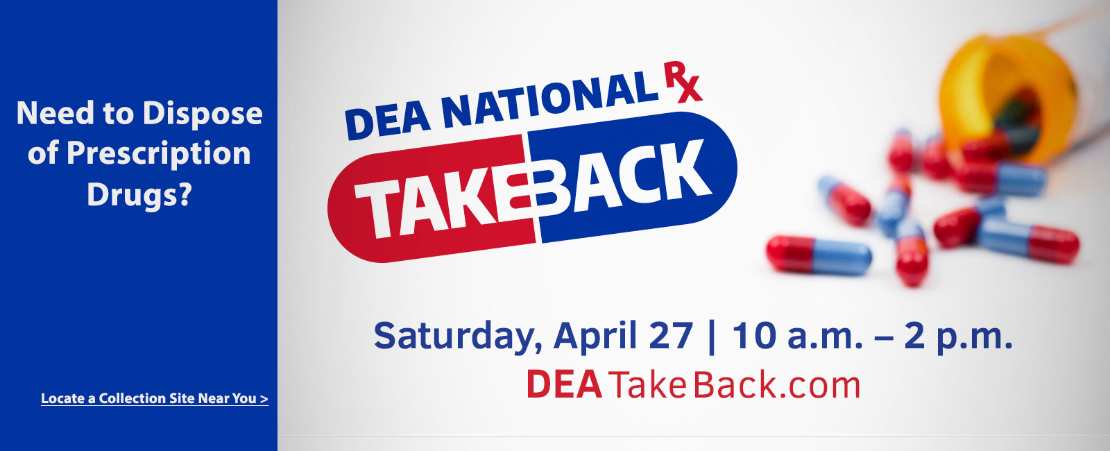 DEA National Take Back Day