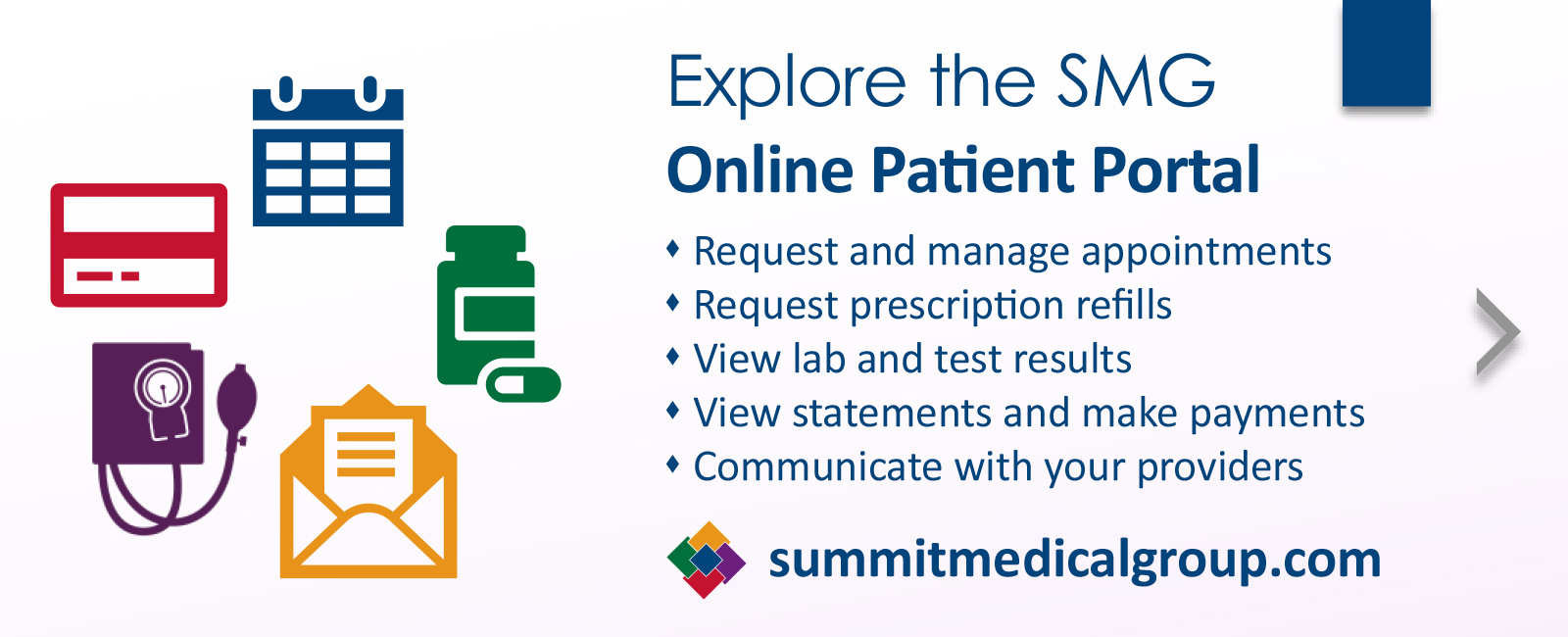 Explore the SMG Online Patient Portal